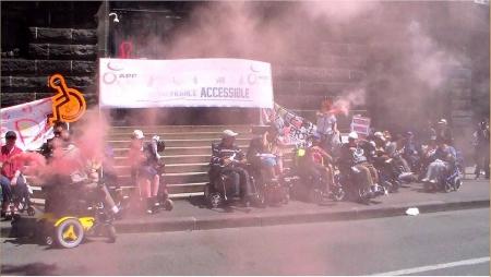 Manifestation accessibilité 27 mai 2015