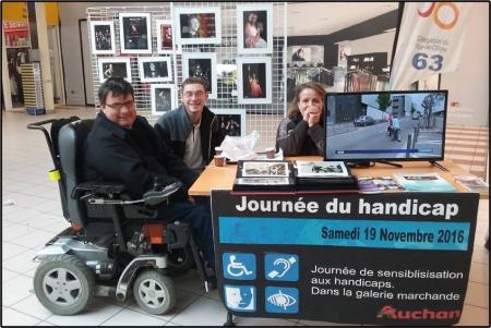 Sensibilisation au Handicap Magasin Auchan Nord
