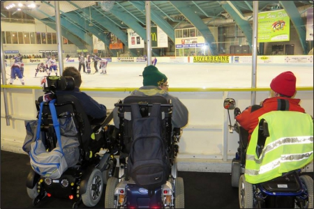 Sortie Hockey sur Glace janvier 2017