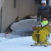 sortie ski Nicole Emma Angélique Claire et le pilote Bo